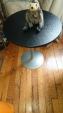 Round side table $8