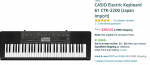 CASIO Electric Keyboard